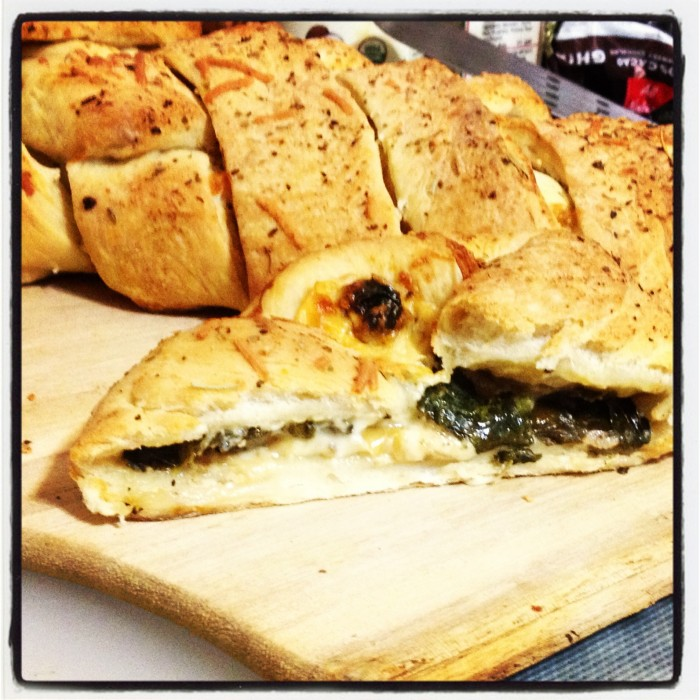 SpinachArtichokeBread